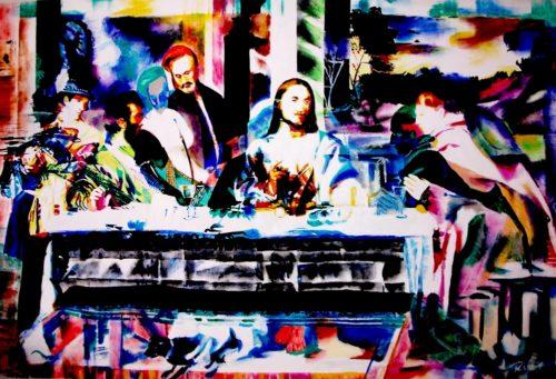 Supper of Emmaus - after Titian